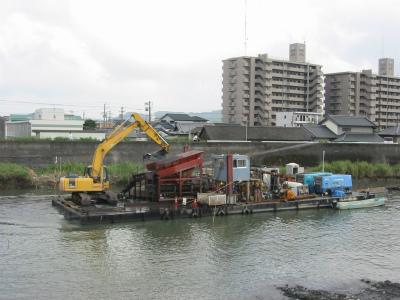 空気圧送式浚渫船(高濃度) N-51