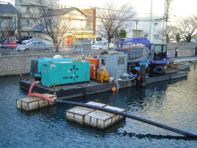 空気圧送式浚渫船(高濃度) N-53